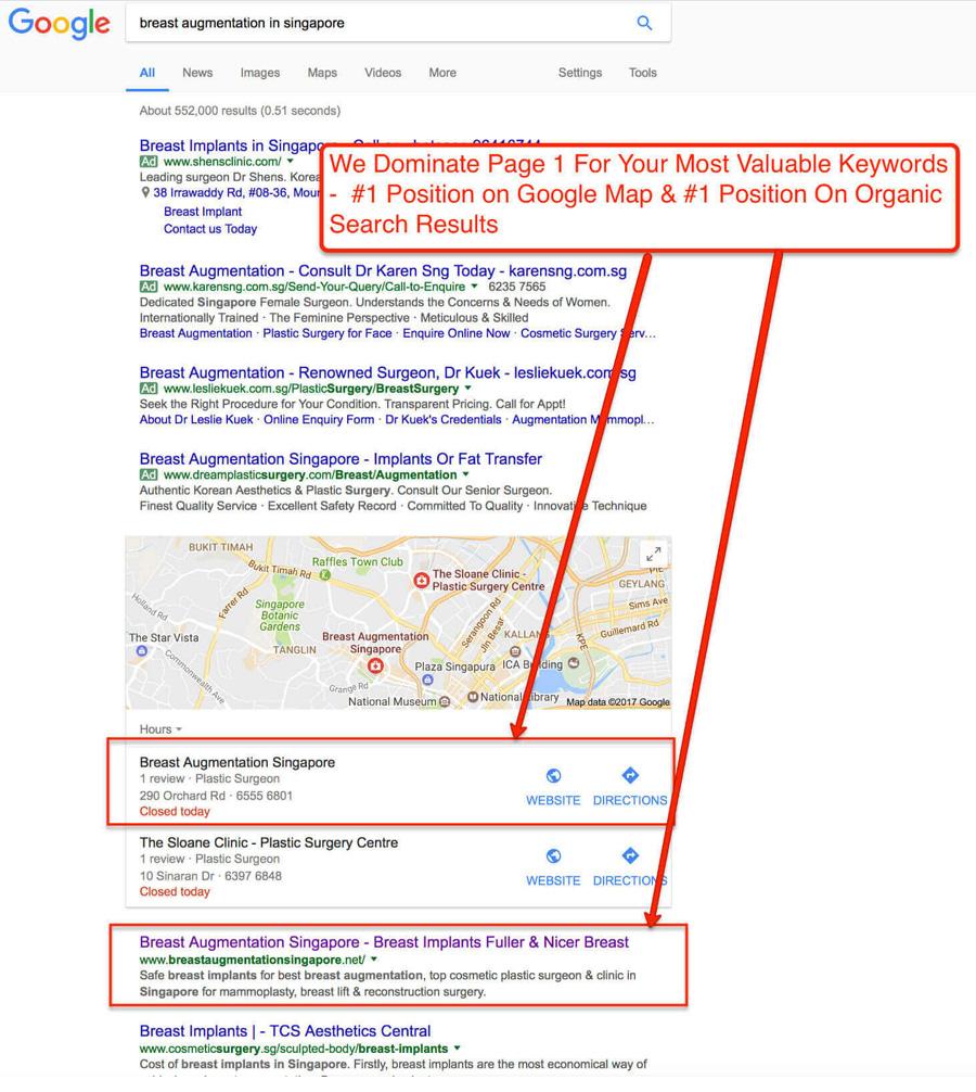BreastAugmentation-Singapore-Google-SEO-Expert-Page1-Ranking